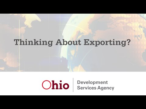 State of Ohio – Export Assistance