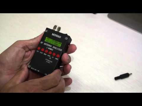 CRAM TV 33 - Mini 60 Antenna Analyzer Review