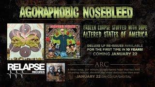 AGORAPHOBIC NOSEBLEED - Vinyl Reissues Trailer