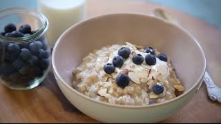 Make Ahead Breakfast Recipes - How To Make Rice Cooker Oats