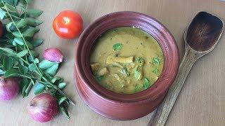 Kongunadu Mushroom Gravy In Tamil | கொங்குநாடு காளான் குழம்பு