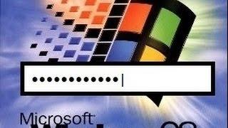Windows 98 FAIL! No Password? No Problem!
