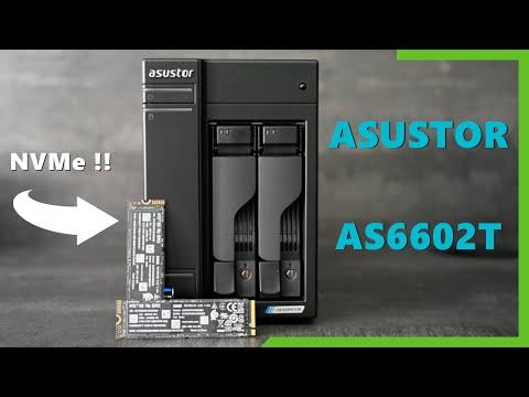 Un NAS avec disques NVMe !! - Lockerstor2 (AS6602T)