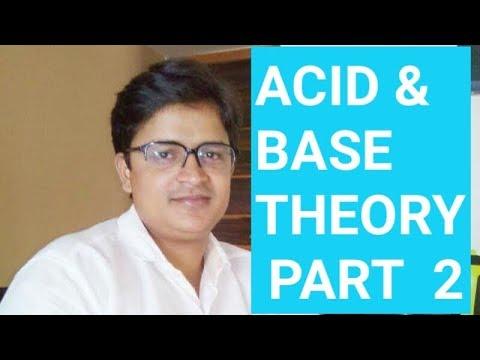 acid-base theory (part 2) hindi , NCERT