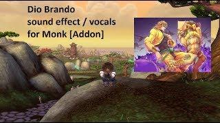 Jojos Bizarre Adventure For Demons Hunter Addon Dio Brando