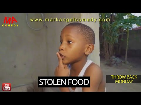 STOLEN FOOD (Mark Angel Comedy) (Throw Back Monday)