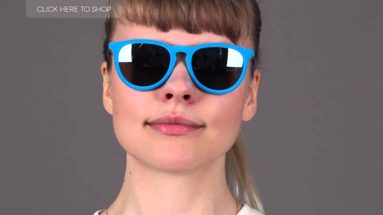 8cb7548475d37 Ray-Ban RB4171 Erika Velvet Sunglasses - Color Comparison - YouTube