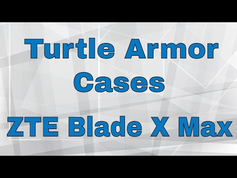 Turtle Armor Case for ZTE Blade X Max