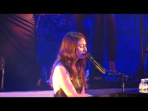 1000 Times- Sara Bareilles concert at the Orpheum Theater in Boston MA+