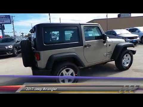 2017 Jeep Wrangler Odessa TX HL750553