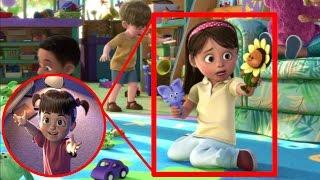 ¿Boo de Monster INC en Toy Story 3?