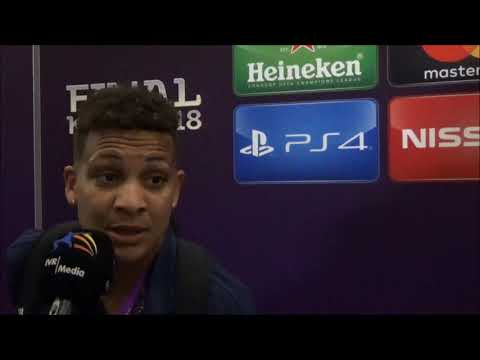 20180524 Interview with Olympique Lyon player Shanice van de Sanden after the won UEFA Women's Champ