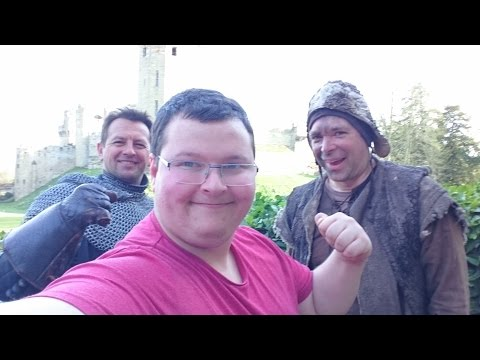 Warwick Castle 2016 - Exploring The Castle and Dungeons - SJBBVideos