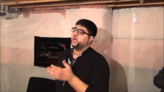 Ab Tak hai zubanon pe Alamdar Alamdar by Farzad Moosvi in Mississauga,ON 12th January 2013