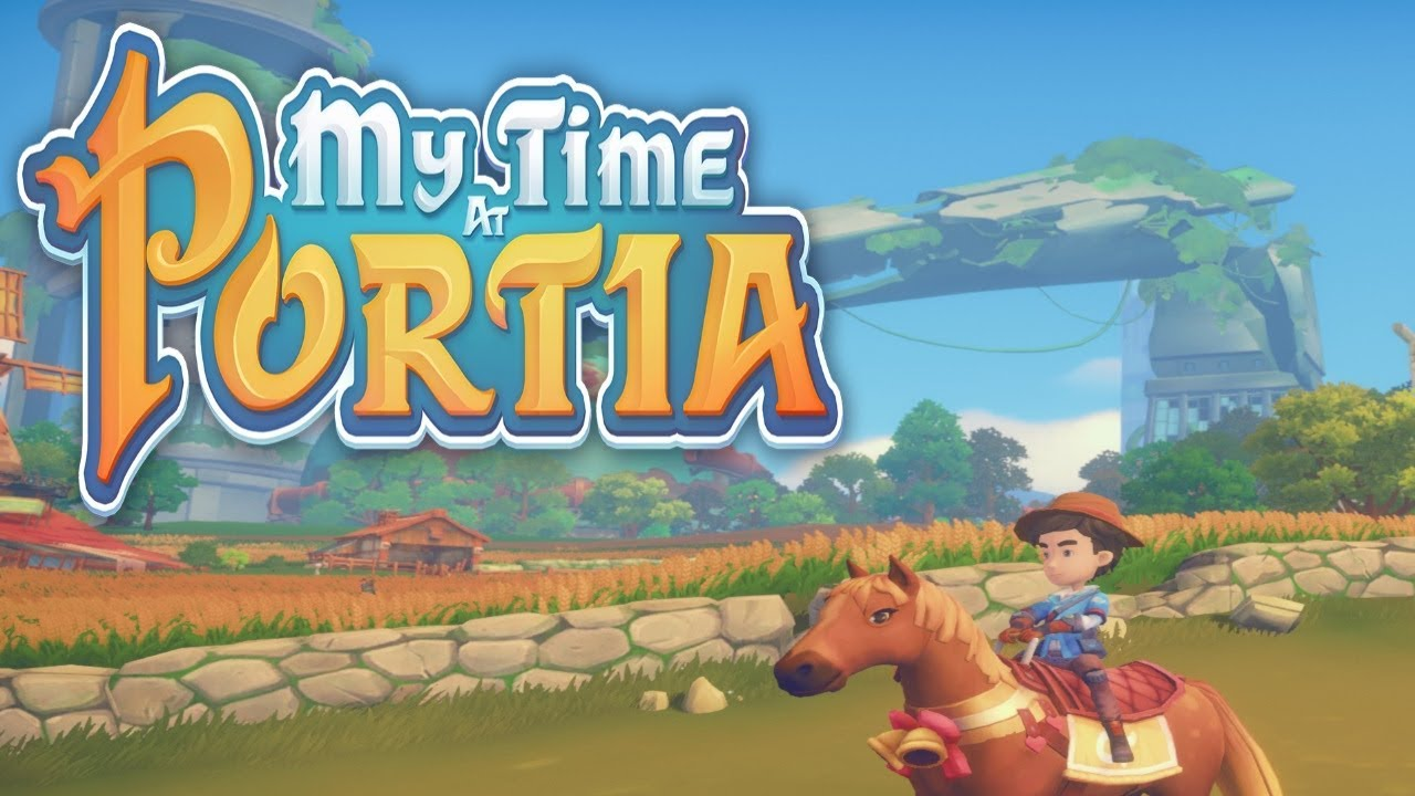 Lets Play My Time At Portia Episode 25 Horses Youtube