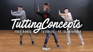 How To Do Tutting Concepts Ft. Slim Boogie | Dance Tutorials | STEEZY.CO