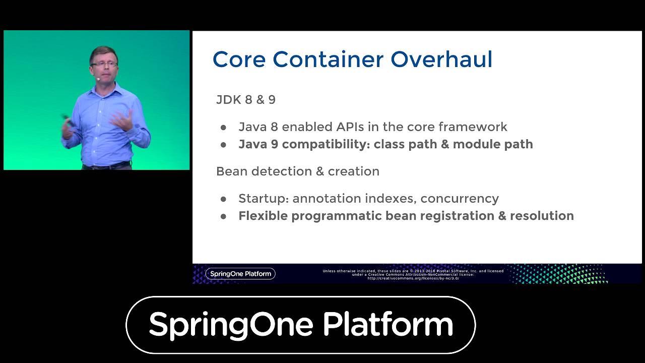 SpringOne Platform 2016 Keynote - Spring Framework 5.0 - YouTube