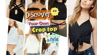 Latest Teenage  designer crop top collection l cool crop top for women