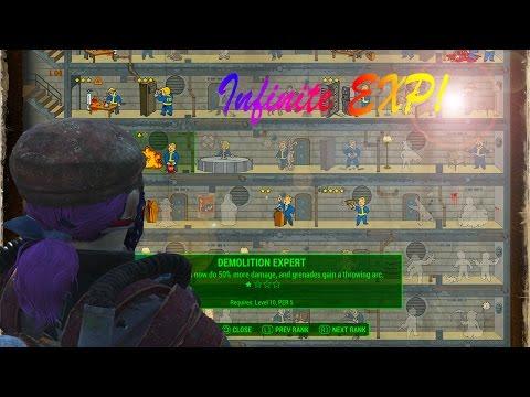 fallout-4-infinite-exp-glitch!