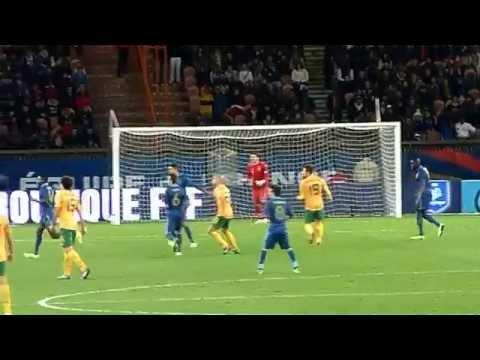 Mathieu Valbuena ● Blaise Matuidi ● Samir Nasri ● France vs Australie 2013