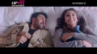 Ae Dil Hai Mushkil | Official Trailer | In Cinemas October 27