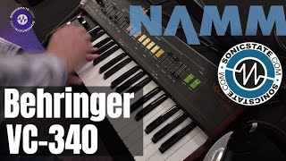 NAMM 2019 Behringer VC340 No Talking
