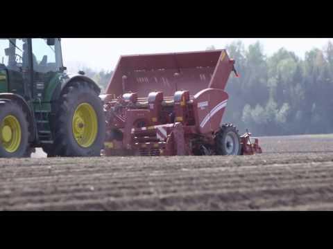 AUGA ekologiškų bulvių sodinimas