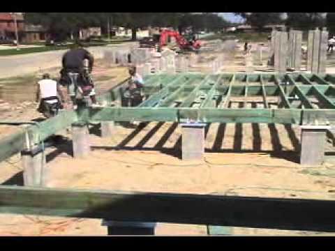 Raised Wood Floor Foundations: Site Prep & Footings