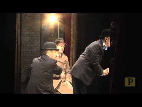 """Quick Changes, Crazy Props, Whiskey and Controlled Chaos in the Wings of """"39 Steps"""""""
