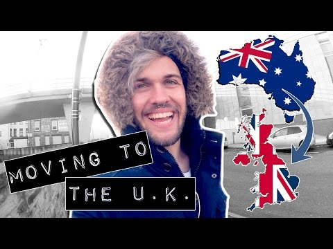 MOVING TO THE U.K. FOR THE FIRST TIME