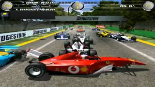 F1 2002 crazy gameplay