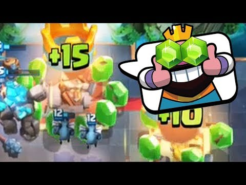 GEM RUSH 3 CROWNS | Clash Royale | FREE Gems!!