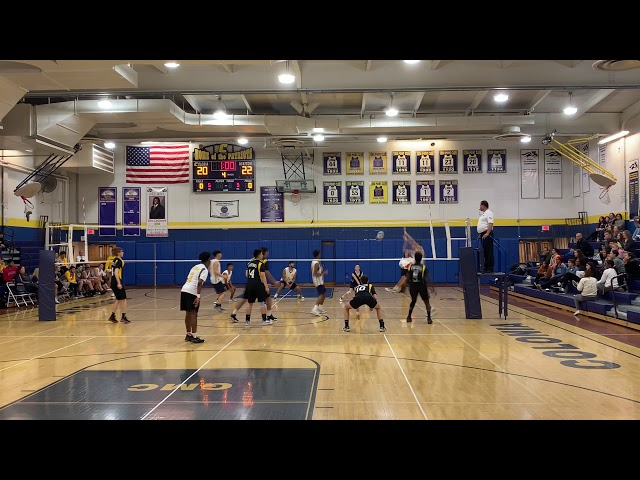 2019 NJ Boys Volleyball, GMC Quarterfinal, SB at Colonia Game1