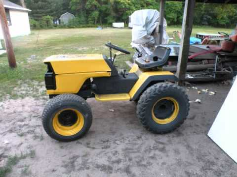 Racing Lawn Mower For Sale Craigslist >> Checking out an MTD tractor we got for free | FunnyDog.TV