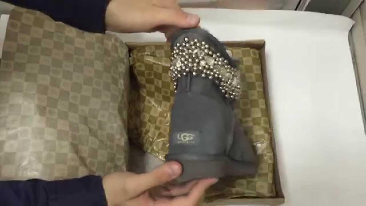 Эксклюзивные угги UGG Australia купить (unpack) - YouTube