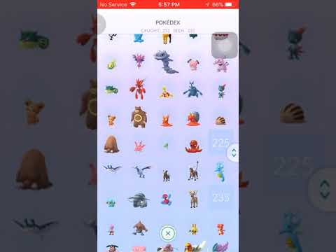 Pokemon Go Gen 1 & 2 Completed Pokedex Except Legendary Mew & Mewtwo; Delibird & Smeargle