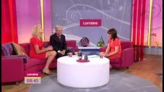 Sally Bercow and Speaker John Bercow MP talk about autism on ITV1's Lorraine - 16/07/12