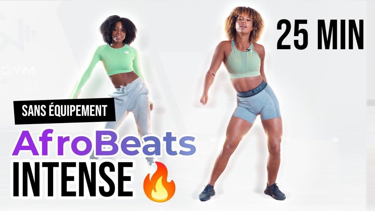 Afrobeats Dance Workout   Part 2   More intensity   No equipment