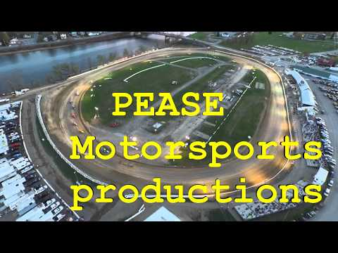 J.Pease @ fonda speedway a kenny wallace dirt racing experie
