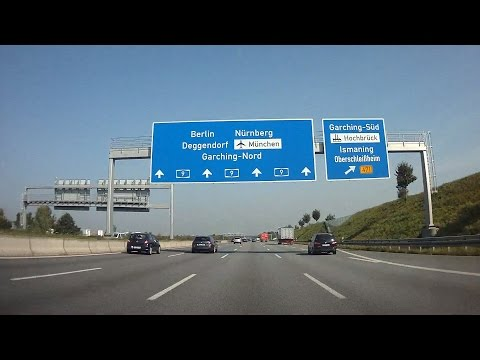 A9 München - Ingolstadt / Germany