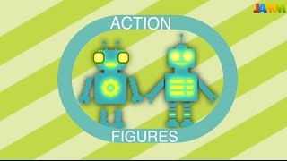 Action Figures @ JAMM Camp