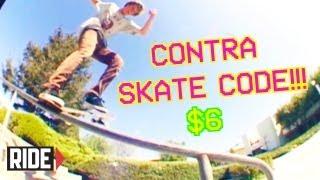 CONTRA SKATE CODE! Player #23 Linden Lindsay - Shredit Cards