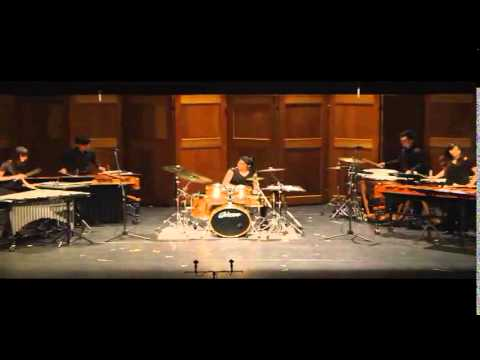 "Concerto for Drumset and percussion ensemble ""Give me FIVE"""