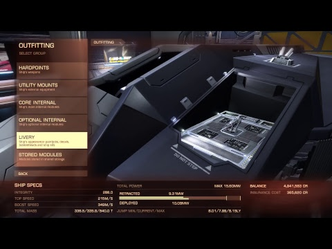 Elite Dangerous - CMDR Shnitzel Flight 08/02/3304 #2