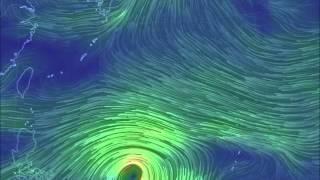 台風20号進路予想1101~1105