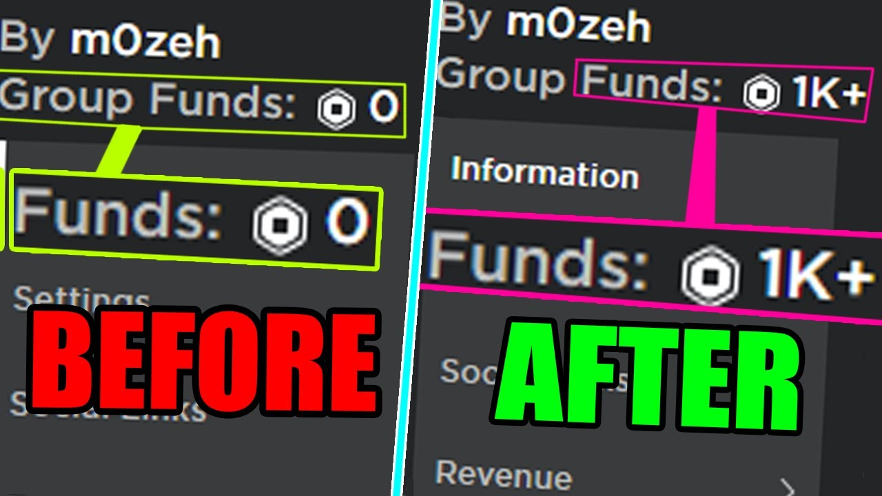 How To Add Group Funds To Your Group On Roblox How To Give Robux