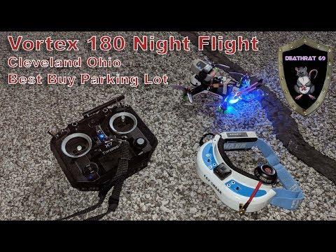 ImmersionRC Vortex 180 | Best Buy Parking Lot | Steelyard Commons Cleveland Ohio