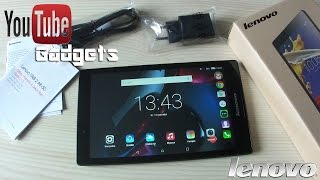 Lenovo Tab 2 A8-50 Обзор планшета 4G LTE Android 5.0  Lollipop Dolby Atmos