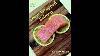Cedar Wrapped Salmon at Trezo Mare