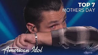 Chayce Beckham GETS EMOTIONAL With His Beautiful Original Song For His Mom!